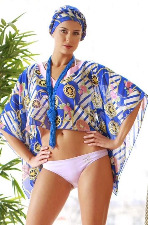 Пляжная одежда арт. Аквамарин 7625