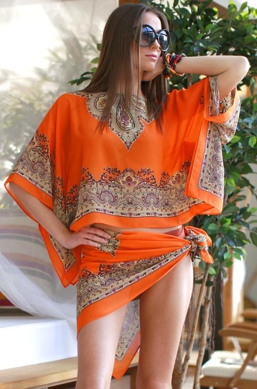 Пляжная одежда арт. Марокана 7635, пляжная одежда арт. Марокана 7630